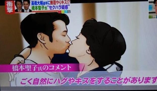 橋本聖子 キス強要