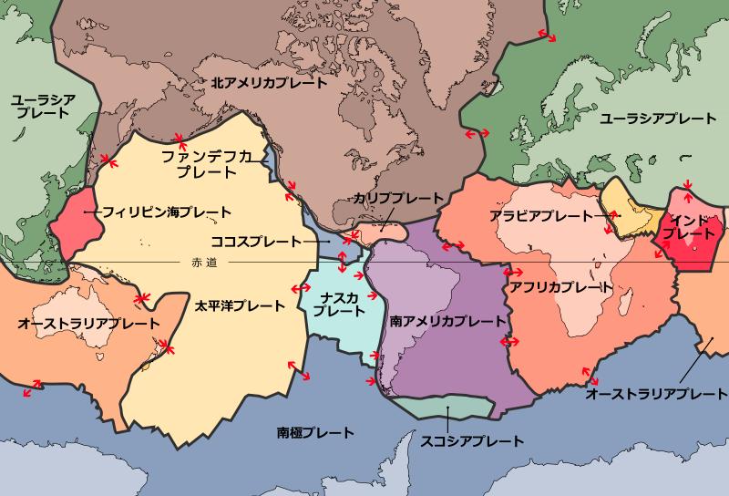 バヌアツの法則 地震 プレート