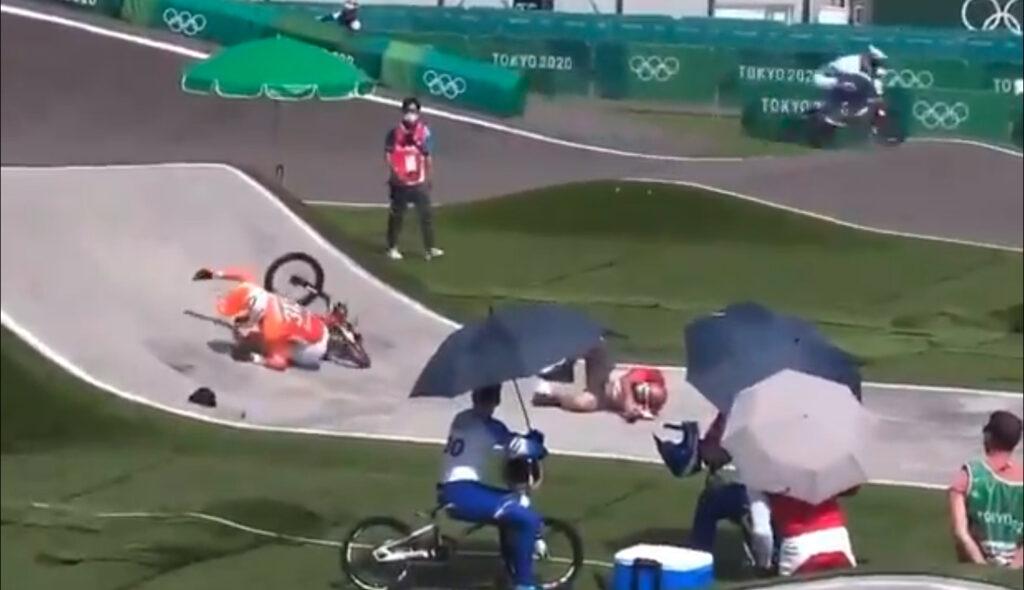 BMX ニック 怪我